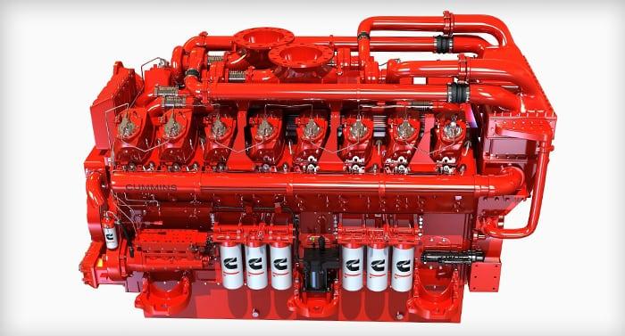 Moteur groupe électrogène cummins - Pellegrini Energie