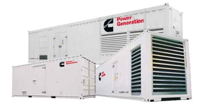 Pellegrini Energie groupe électrogène transport container