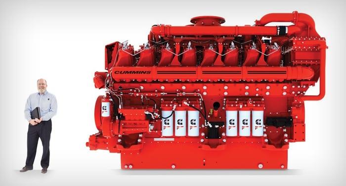 Pellegrini Enegie moteur industriel